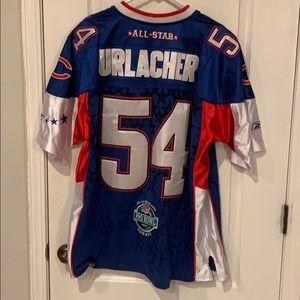 Reebok Brian Urlacher Bears Pro Bowl Jersey